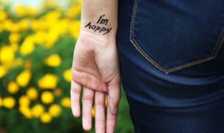 tatouage poignet éphémère